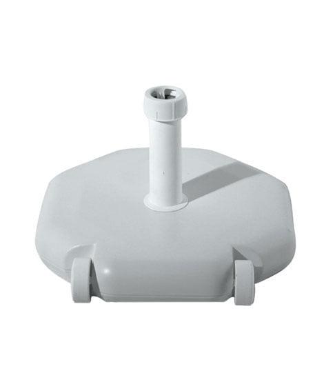 Bases de resina rellenada de cemento para montura 18-54mm, octogonal 490x490mm, peso 40Kg.