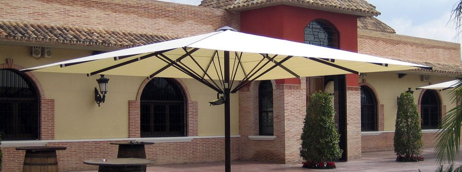 Parasol Gigante SPS. Serie 12000