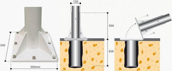base-casaca-empotrada-al-suelo-serie-12000