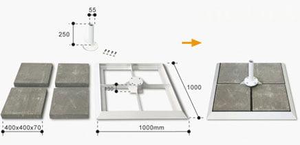 base-de-superficie-lastre-serie-7000
