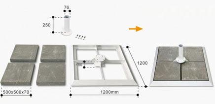 base-de-superficie-lastre-serie-9000-9000-max