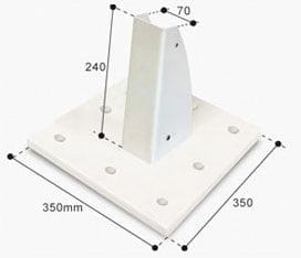 base-pletina-atornillada-al-suelo-serie-pie-lateral-70-doble